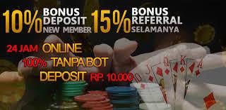 Penawaran Bonus Menarik Dan Deposit yang Murah Dari Situs Pokerlounge99